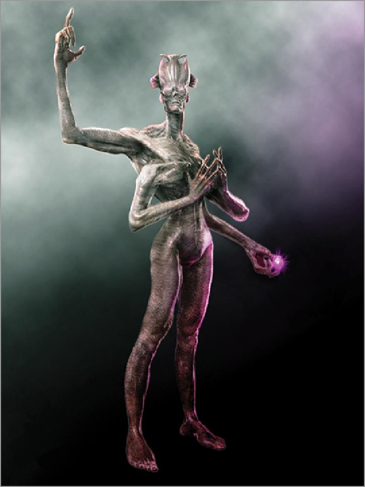 Painting the Interdimensional Traveler - ZBrush Creature