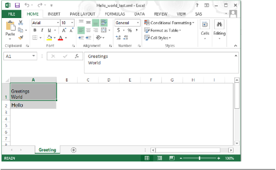 Building a System of Excel Macros Executable by SAS - Exchanging