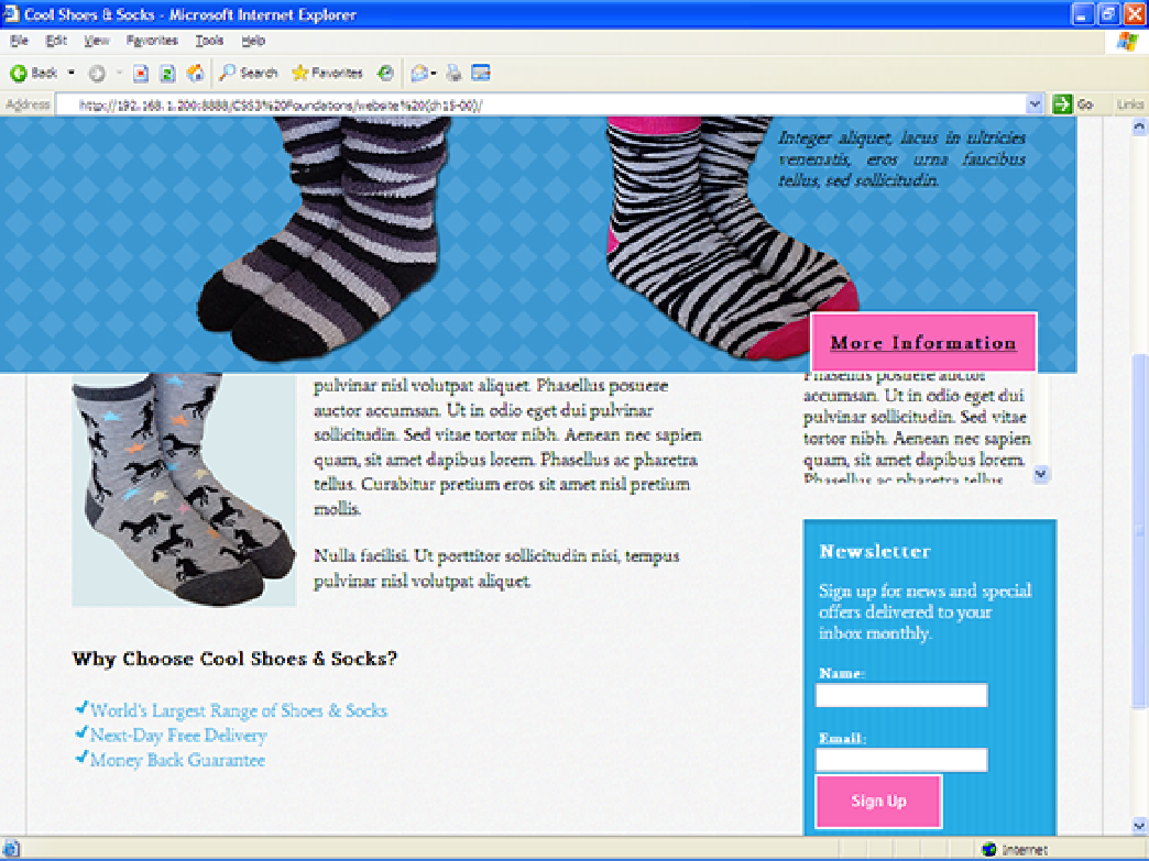 Testing Across Multiple Browsers - CSS3 Foundations - page 258