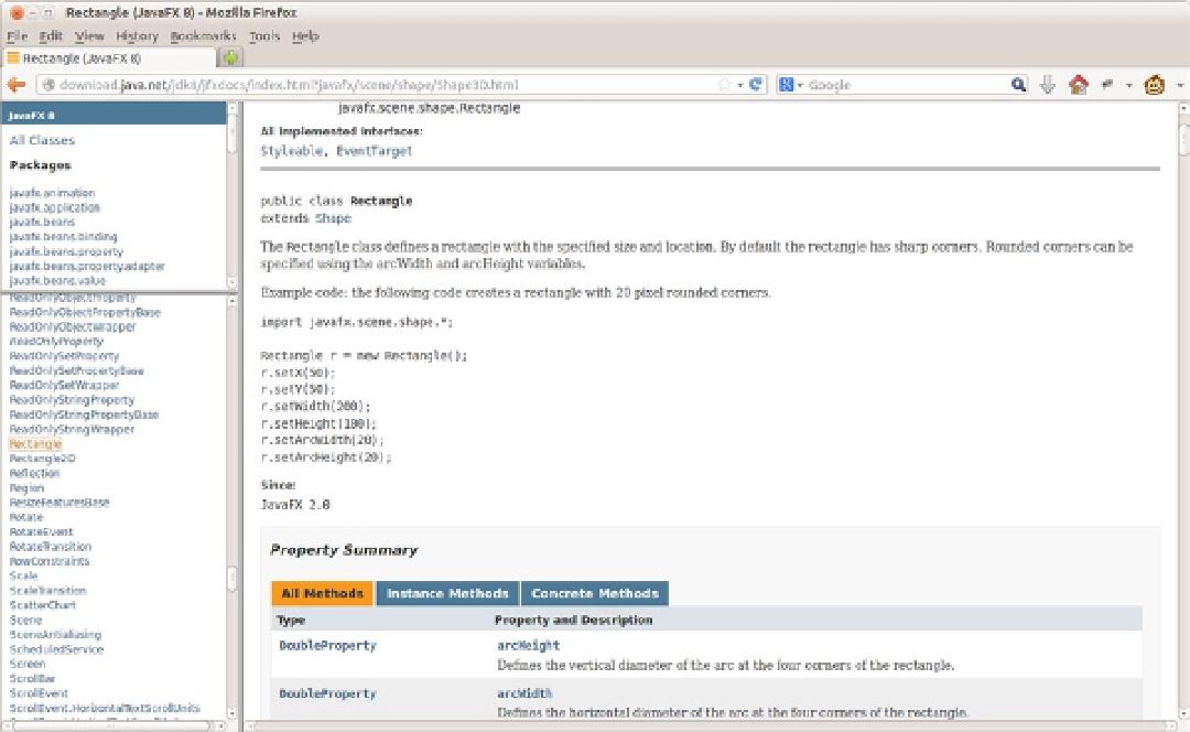 Getting a Jump Start in JavaFX - JavaFX 8: A Definitive