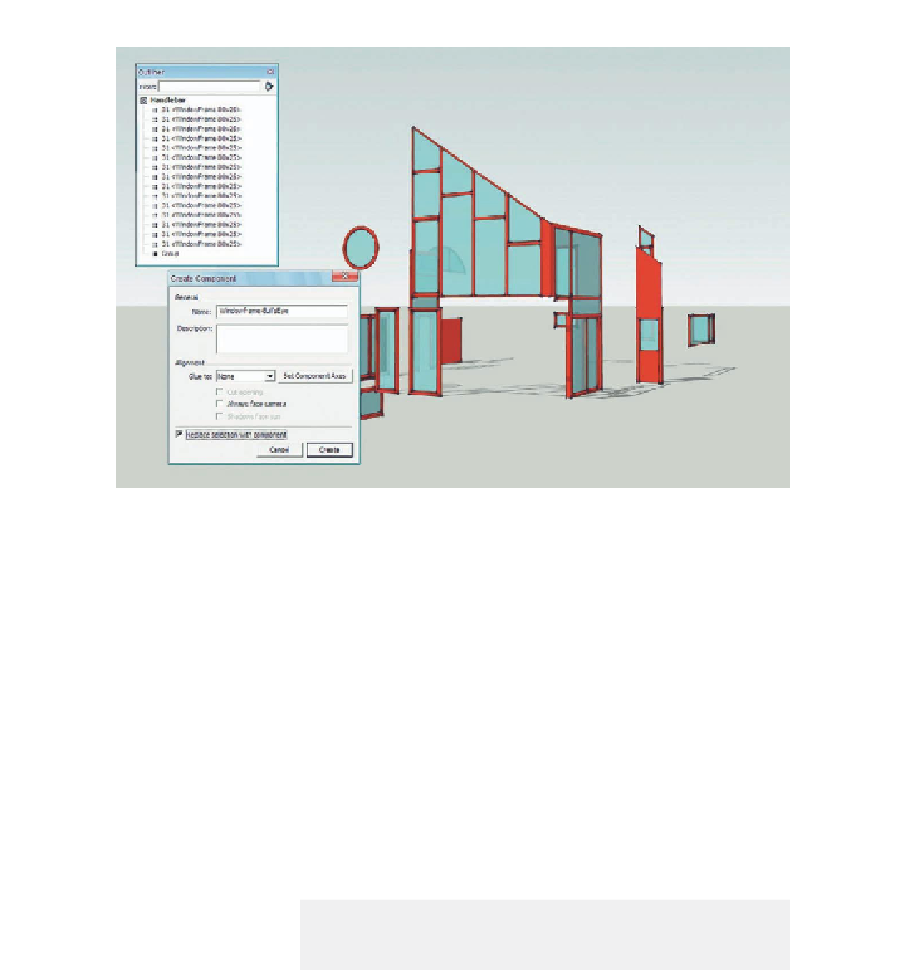 A Virtual House Google Sketchup Workshop Modeling Visualizing And Illustrating Page 180