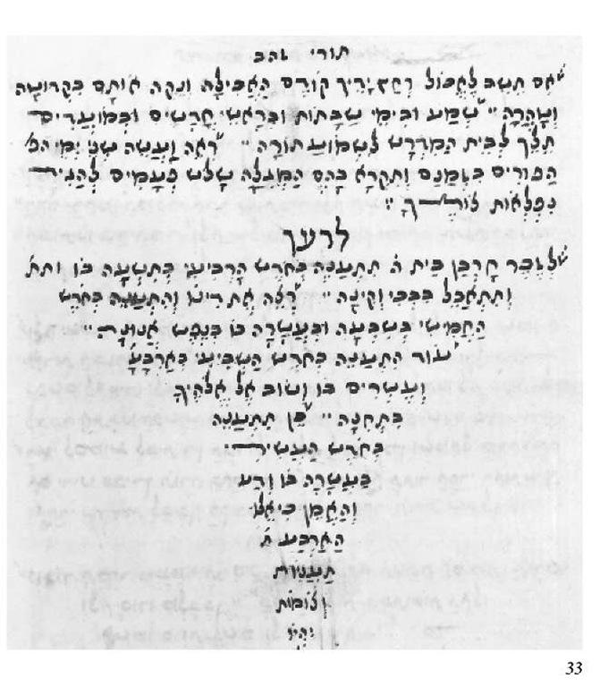 Yevano-Karaitic cursive script 1759.