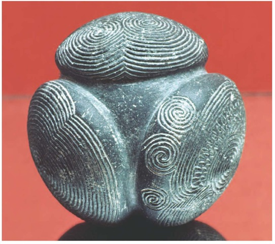 Neolithic Sites of the Orkney Islands Decorated stone artifact from the Neolithic site of Skara Brae, Orkney Islands, c. 3100-2500 B.C.