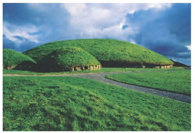 Boyne Valley Passage Graves The Great Mound of the megalithic passage grave from Knowth, Ireland, was built more than 5,000 years ago.