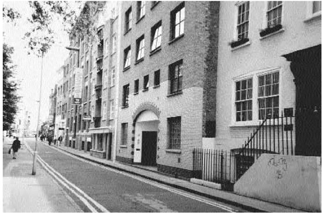 White's Row as it is today. This is the street where Annie Millwood lodged and where she was found on 25 February 1888. Admitted to the hospital, Annie died the following month.
