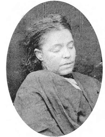 Frances Coles (said by some to be the most attractive of the victims) was murdered in Swallow Gardens on 13 February 1891 and was the last woman ever considered to be a possible Ripper victim. She may have been killed by Thomas Sadler, though it is also possible that she met her death at someone else's hand.