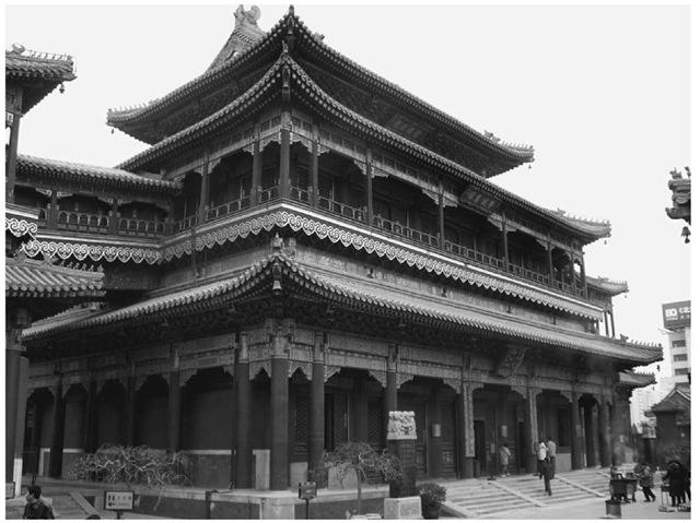 Wanfodian (Hall of 10,000 Buddhas), Yonghegong, Beijing