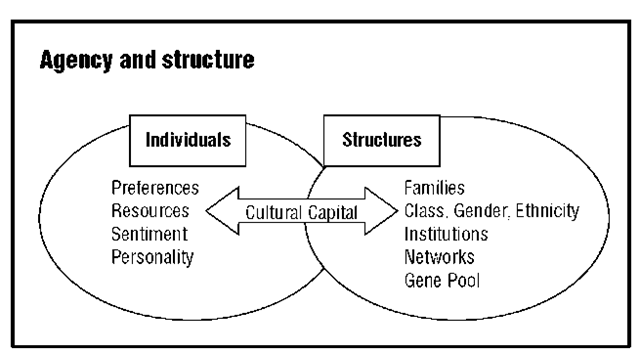 structures and agency