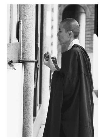 Mahayana Buddhist nun