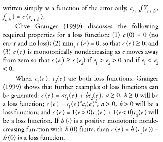 LOSS FUNCTIONS (Social Science)