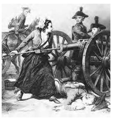 Free Photo: The Heroine on Monmouth, Molly Pitcher