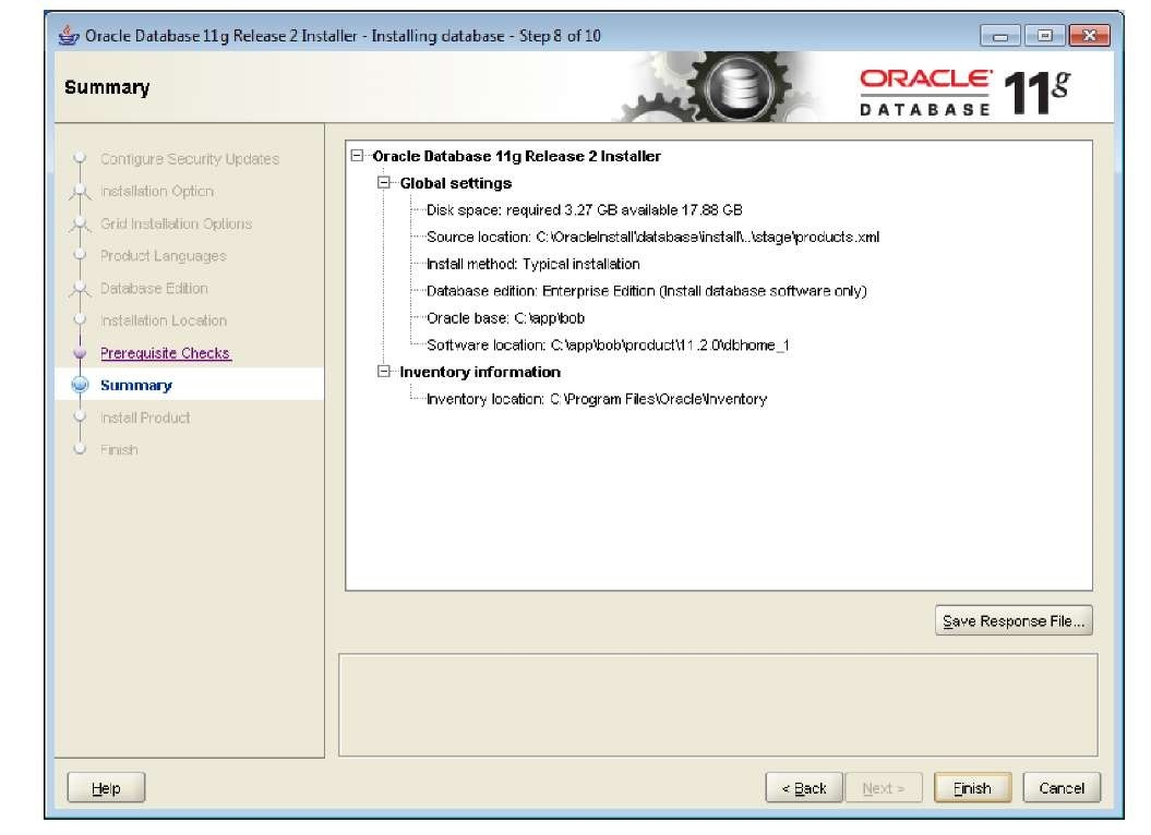Installation of the database and OWB Part 1 (Oracle