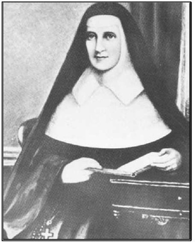 Mother Catherine McAuley, founder of the Sisters of Mercy.