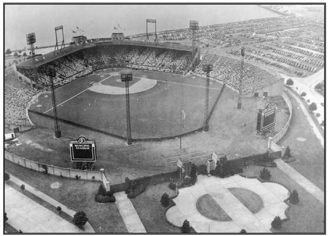 Roosevelt Stadium, Jersey City, c. 1935.