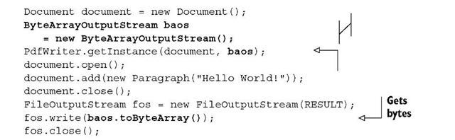 Listing 1.9 HelloWorldMemory.java