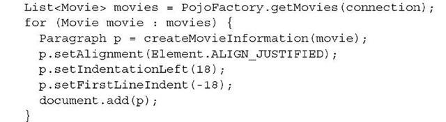 Listing 2.8 MovieParagraphs1