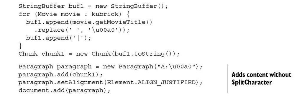 Listing 2.10 MovieChain.java