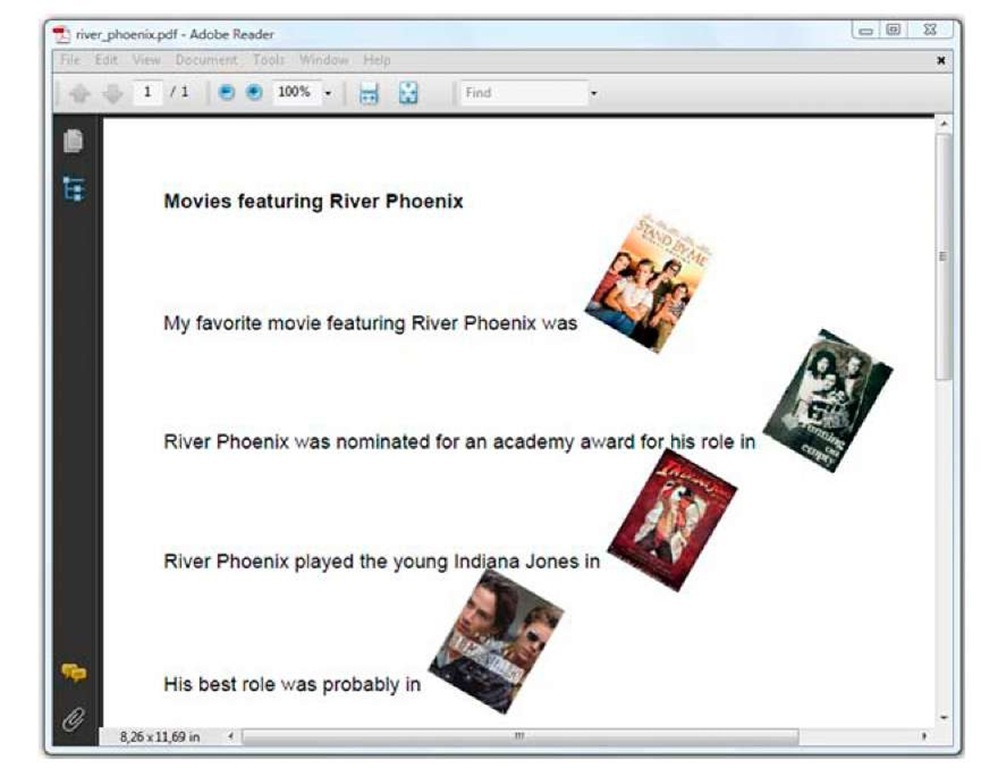adding images to pdf itext