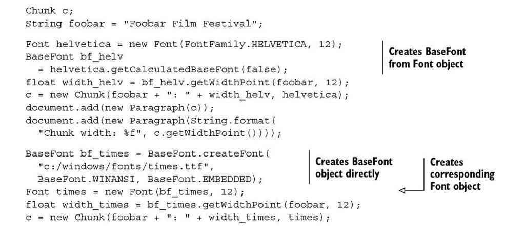 Listing 3.7 FoobarFilmFestival.java