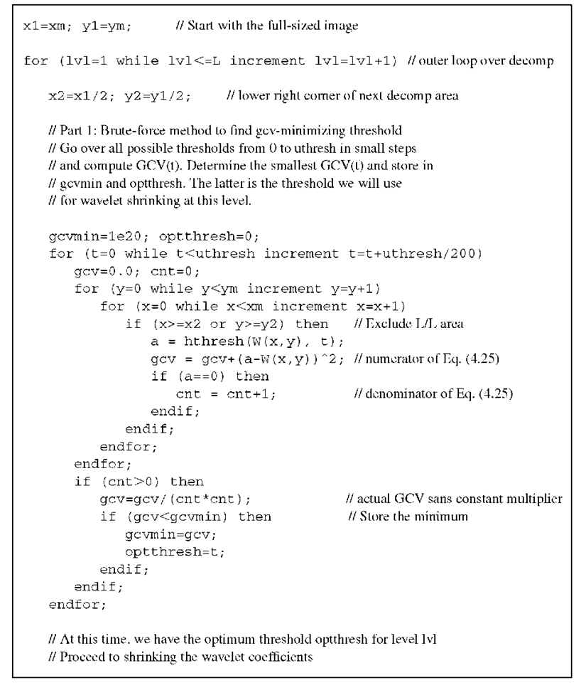 Wavelet-Based Filtering Part 2 (Biomedical Image Analysis)