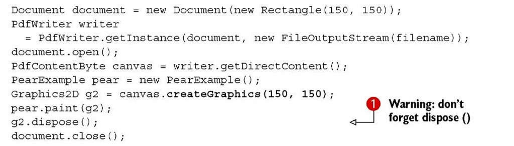 read pdf line by line using java itext