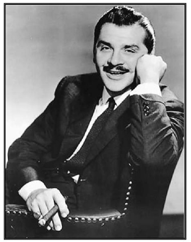 Ernie Kovacs, c. 1950. Kovacs's zany humor made him a national television star.