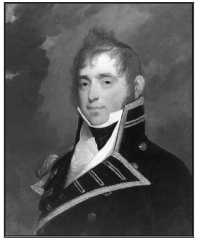 Gilbert Stuart, Master Commandant James Lawrence, United States Navy, 1812. Oil on wood, 28 1/ 2 x 23 1/2 in.