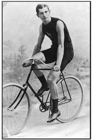 Arthur Augustus Zimmerman, world champion cyclist.