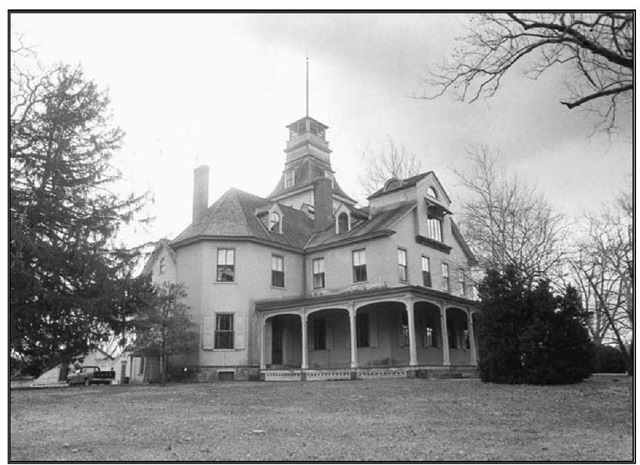 Exterior of the mansion at Batsto Village, located in Wharton State Forest.