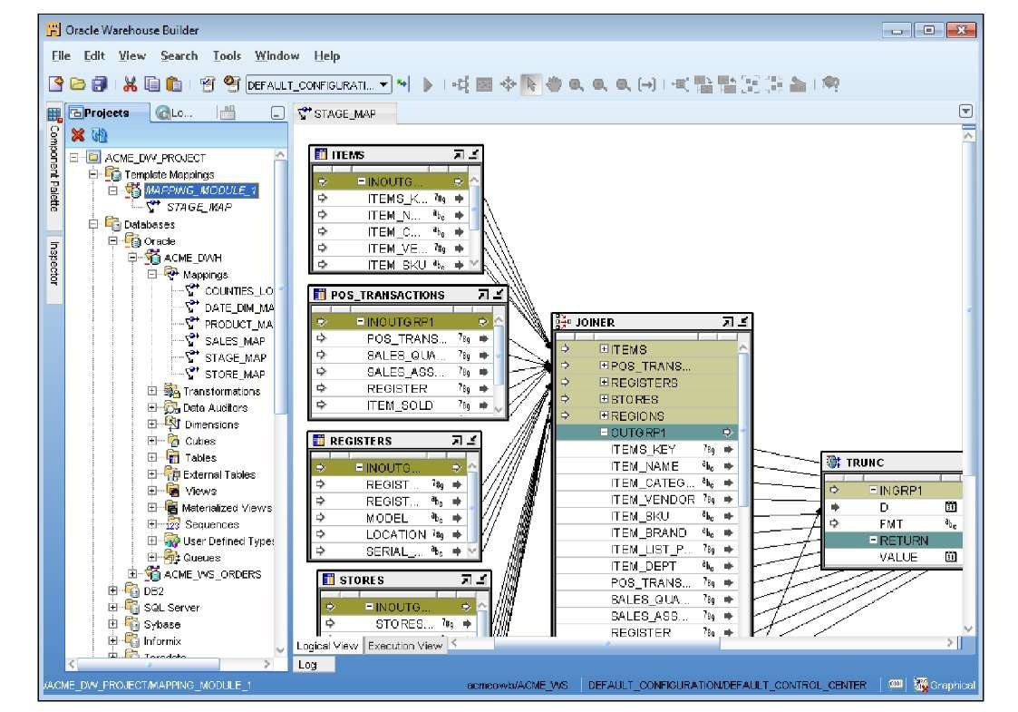 Building a code template mapping Part 1 (Oracle Warehouse Builder 11gR2)