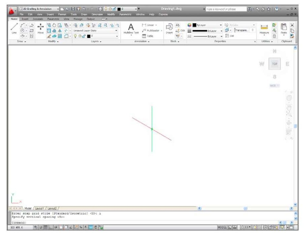 Orthographic and isometric Part 2 (AutoCAD 2011)