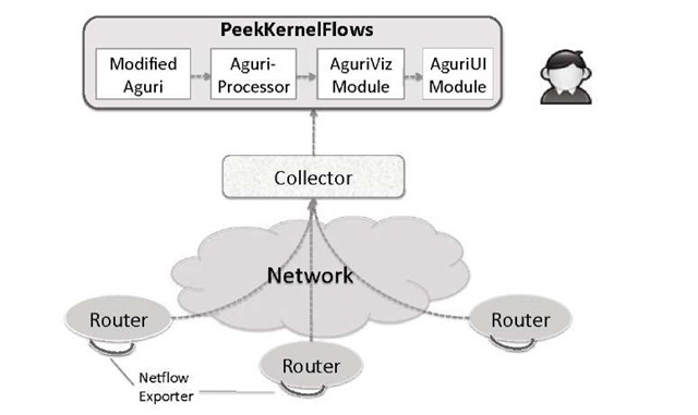 The Monitoring Framework PeekKernelFlows