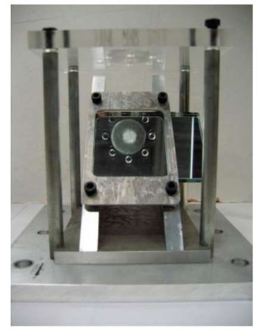 Punch Test Fixture with 45° Mirror