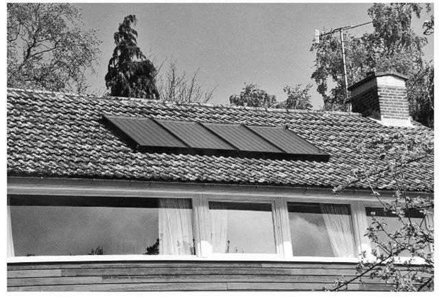 Sunuser retrofitted solar thermal collectors.
