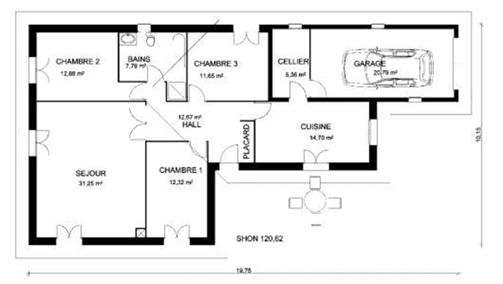 And-Or Graph Grammar For Architectural Floor Plan