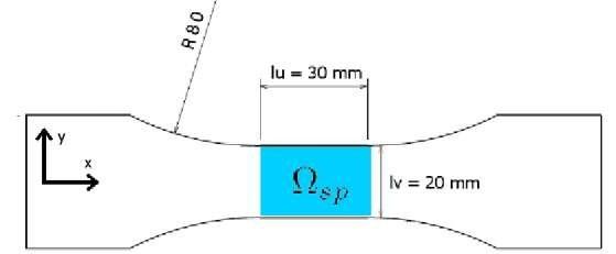 Specimen geometry