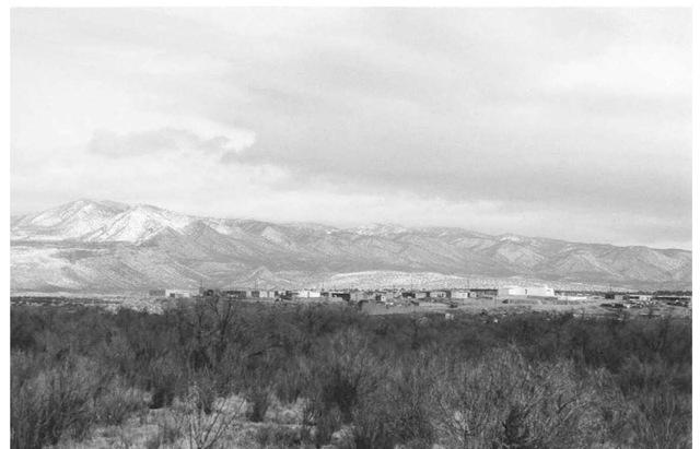 the Zia pueblo village