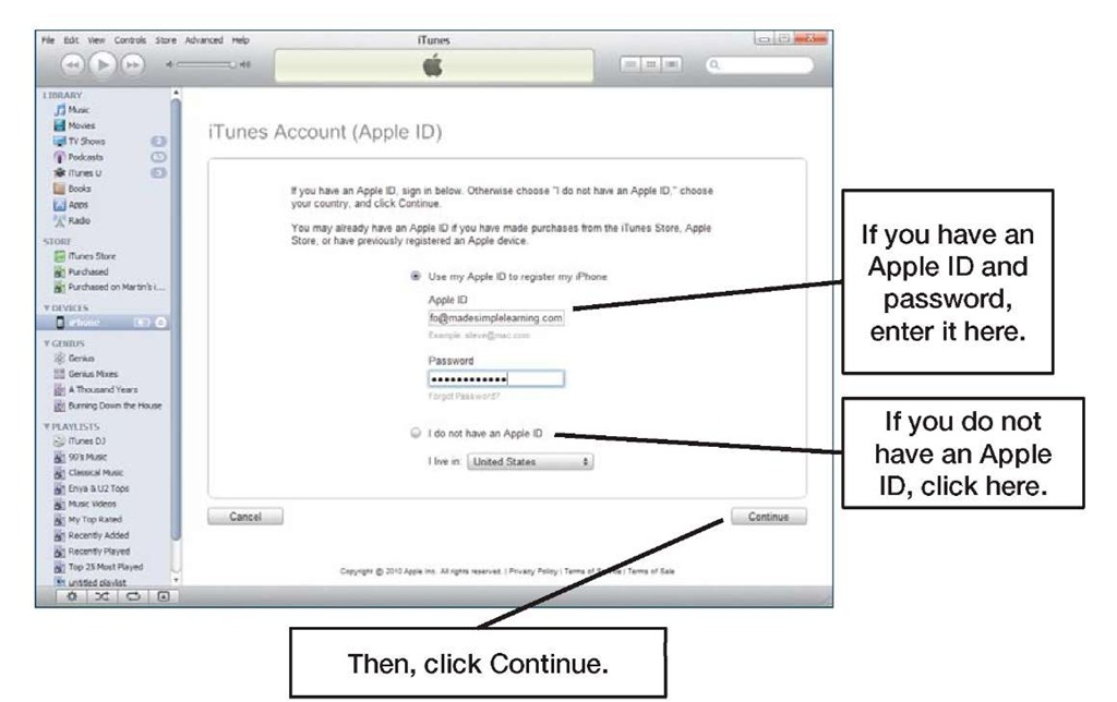 how to create your apple id