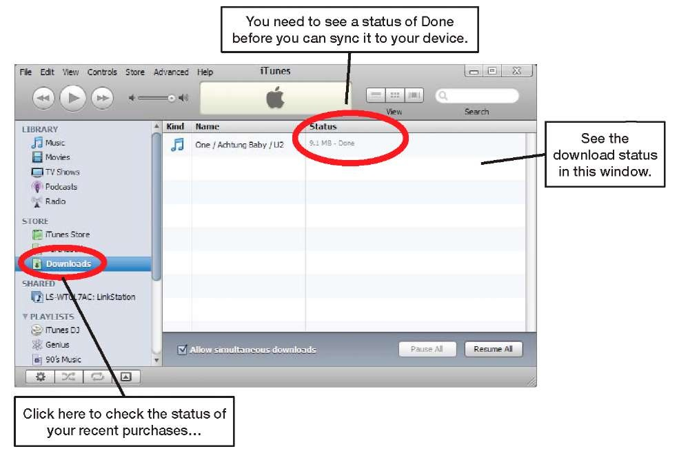 how to buy songs on itunes on iphone