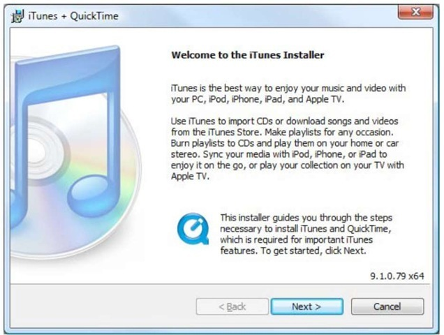 Itunes setup download for pc