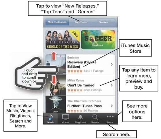 how to change itunes layout