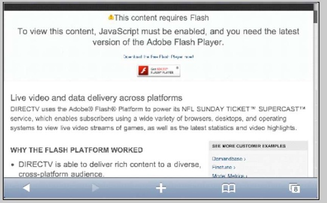 Why do i need flash player