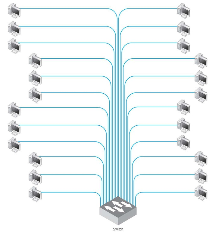 VLAN-based backbone network design