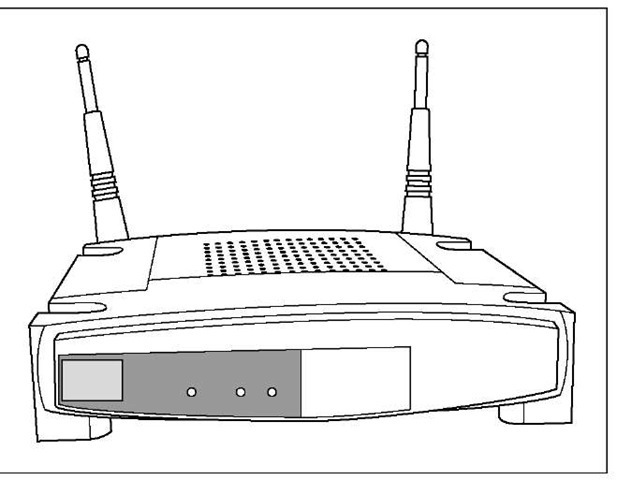 A standalone access point.