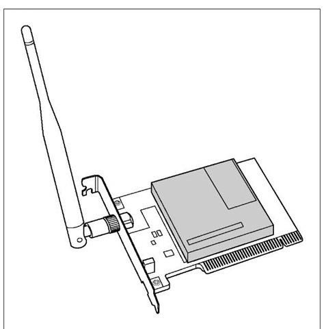 A wireless PCI adapter.