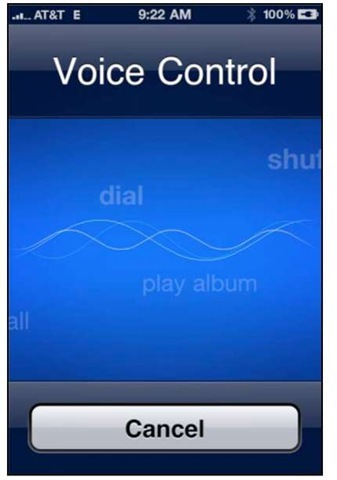 Iphone Voice Control >> Voice Control Iphone 4