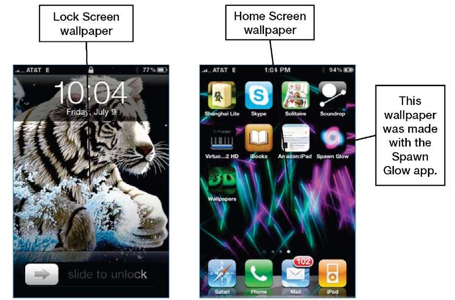 Changing Your Lock Screen And Home Screen Wallpapers