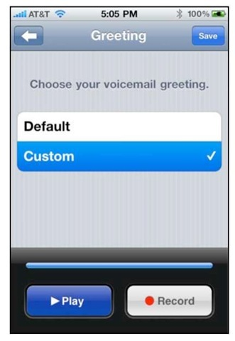 Setting up and using voicemail iphone 4 changing your voicemail password m4hsunfo
