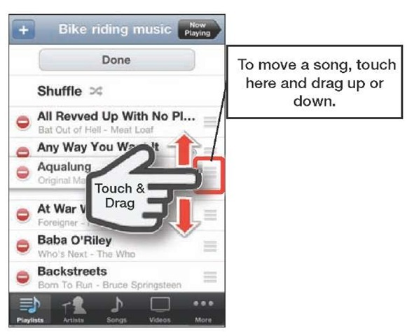 how to change the name of a playlist on iphone