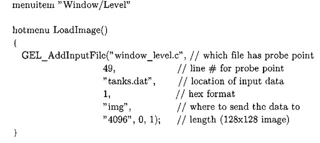 Listing 3-11: window_level. gel